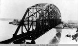 Tanana River bridge. Nenana, Alaska, 1923.