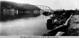 Tanana River bridge, Nenana, Alaska, 1923.
