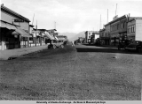 Main street, Anchorage, east [summer, 1936].