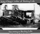 Judge Clegg's cabin at Harding Lake.