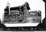 Roadhouse at Chena Hot Springs, June 1928.