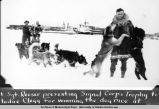 Signal Corps trophy dog race, Fairbanks, Alaska, Mar 1929.