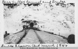 Bear Valley tunnel and bridge, March 1946.