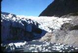 Mendenhall River emerging from Glacier.