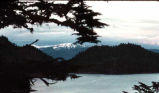 Sunset over Warm Springs Bay, Baranof Island.