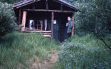 Cabin in Mount McKinley National Park, 1962.
