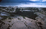 Aerial view of Valdez, Alaska, 1962.