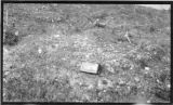 Small flowage of limestone detritus near monument No. 26. June 24, 1912.
