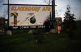 Elmendorf Air Force Base welcome sign