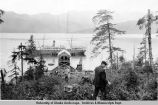 The Watson tied up at the dock of Fidalgo Mines Co. in Prince William Sound.