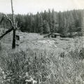 The dwelling house - seen from west. Summer '53.