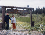 Harold and Roxy Pomeroy at Switfwater Park in Soldotna.
