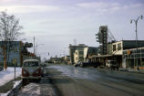 Damage on 4th Avenue in Anchorage after the 1964 earthquake.
