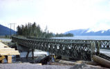 Damage to bridge after the 1964 earthquake.