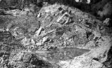 Landslide near Anchorage after 1964 earthquake.