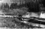 Bridge after 1964 earthquake.
