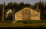Tlingit clan house.