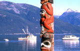 Totem pole, Lookout Park.