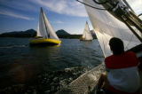 Sailing Tongass Narrows.