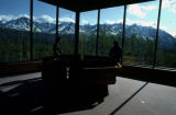 Kluane National Park visitor's center.