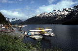 Float planes on Eyak Lake.