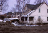 House in Anchorage after the 1964 earthquake.