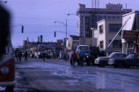 Downtown Anchorage after the 1964 earthquake.