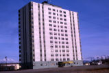 Mt. McKinley Building in Anchorage after the 1964 earthquake.