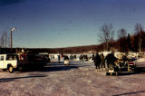 Army getting ready to break Iditarod Trail.