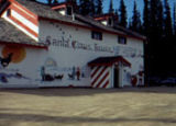 Santa Claus House in North Pole during summer.