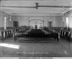 Interior of the Congregation Church, Nome, Alaska.