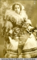 Gladis Curry, Nome Dog Race Queen, 1910.