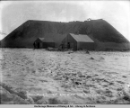 Union Mining Co., east dump on Flat Creek, Nome, Alaska, May 3, [19]08.