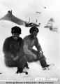 Two Japanese soldiers on Attu.