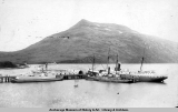 Boats at the dock, Dutch Harbor.