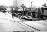 4th Avenue earthquake destruction, Anchorage, Alaska, March 1964.