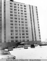 L Street Apt. Building, 1200 L Street, Anchorage, Alaska, March 1964.