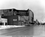 Penney's Department Store destruction.