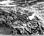 Aerial view of Turnagain area, Anchorage, after the 1964 earthquake.