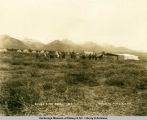 Savage River Camp, 1924, McKinley Park, Alaska.