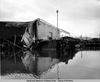 Waterfront and dock damage, Seward, Alaska.