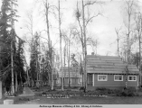 A.E.C. R[ailwa]y cottages on Gov[ernment] Hill, Anchorage, Alaska.