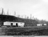 Powder houses, A.E.C. R[ailwa]y, Anchorage, Alaska.