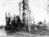 Lieut. F. Mear's new residence, Oct. 22, [19]16, Lot 13, Black 15, Anchorage, Alaska.
