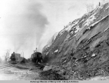Steam shovel no. 2 at mile 104, Nov. 10, [19]16.