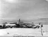 A.E.C. river boats on the ways for winter, Anchorage, Alaska, Nov. 22, [19]16.