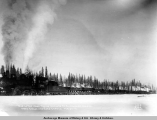 One of the coal trains enroute to Anchorage, Alaska from Moose and Eska Creeks, Feb. 27, [19]17.