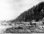 Camp 36, A.E.C. R[ailwa]y, near junction of Chicaloon [sic] and Matanuska Rivers, Feb. 10, [19]17.