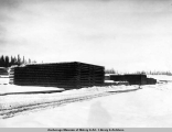 A portion of the heavy steel on hand, Mar. 1, [19]17, A.E.C. R[ailwa]y, Anchorage.