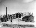General view soldiers quarters, A.E.C. R[ailwa]y terminal yards, Anchorage, Alaska.